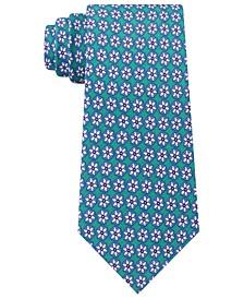 Men's Classic Snowflake Neat Silk Twill Tie