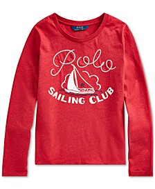 Big Girls Sailing Club Cotton Jersey T-Shirt