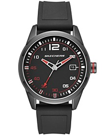 Men's Slauson Silicone Strap Watch 45mm