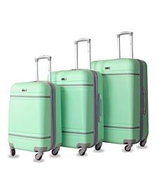 Varsity 3-Pc. Hardside Luggage Set