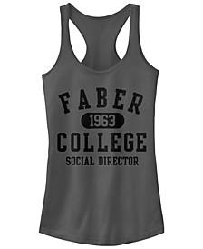 Animal House Faber College Social Director Ideal Racer Back Tank