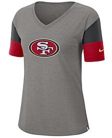 Women's San Francisco 49ers Tri-Fan T-Shirt