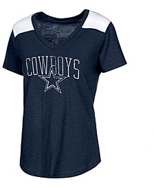 Women's Dallas Cowboys Corinna V-Neck T-Shirt