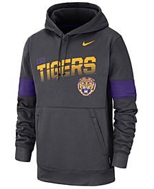 Men's LSU Tigers Therma Sideline Hooded Sweatshirt