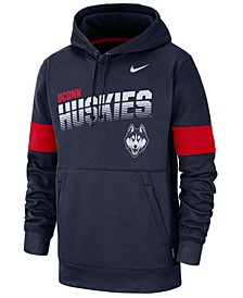 Men's Connecticut Huskies Therma Sideline Hooded Sweatshirt