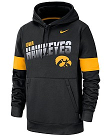 Men's Iowa Hawkeyes Therma Sideline Hooded Sweatshirt