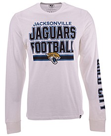 Men's Jacksonville Jaguars Dub Stack Super Rival Long Sleeve T-Shirt