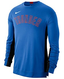 Men's Oklahoma City Thunder Dry Top Long Sleeve Shooter Shirt
