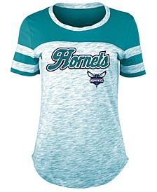 Women's Charlotte Hornets Space Dye T-Shirt