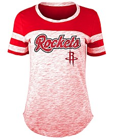 Women's Houston Rockets Space Dye T-Shirt