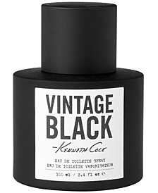 Kenneth Cole Men's Vintage Black Eau de Toilette, 3.4 oz