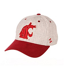 Washington State Cougars Oxford Flex Stretch Fitted Cap