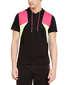 INC Men's Sweet Tooth Short Sleeve Hoodie, Created for Macy's
