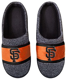 San Francisco Giants Poly Knit Slippers