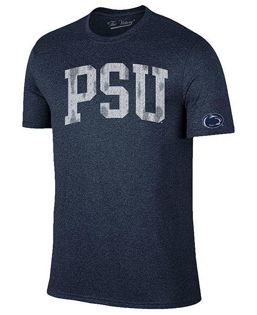 Retro Brand Men's Penn State Nittany Lions Oversized Arch Dual Blend T-Shirt