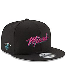 Miami Heat City Beach 9FIFTY Snapback Cap