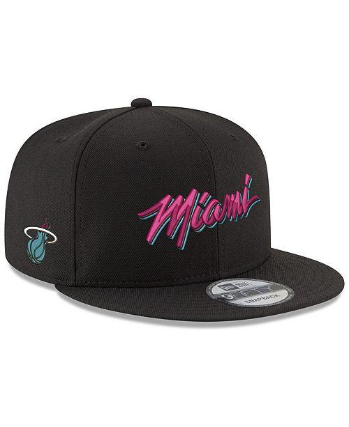 New Era Miami Heat City Beach 9FIFTY Snapback Cap