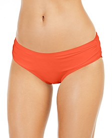 Shirred Bikini Bottoms