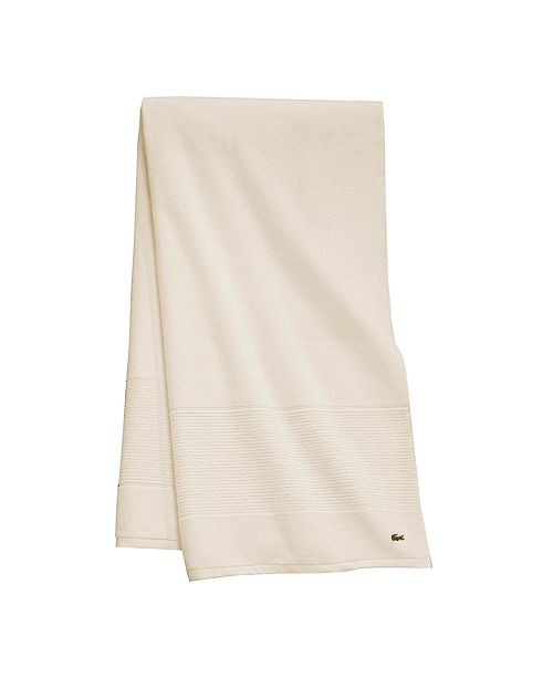 "Lacoste Legend 30"" x 54"" Supima Cotton Bath Towel, Sold Individually"