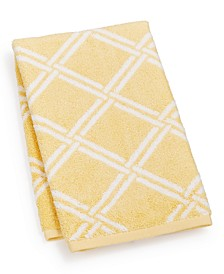 "Elite Cotton Lattice 16"" x 30"" Hand Towel, Created for Macy's"