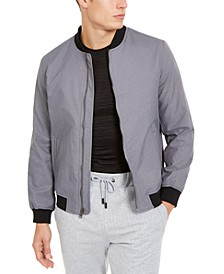 Men's Full-Zip Bomber Jacket, Created For Macy's