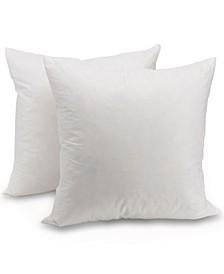 """Feather 18""""x18"""" Throw Pillow"""