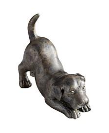 Hershey Puppy Sculpture