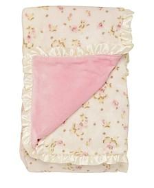 Vintage-Like Rose Blanket