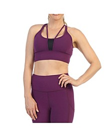 High Quality Supportive Strappy Back Sports Bra