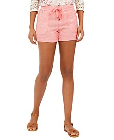 Solid Linen Shorts, Created for Macy's