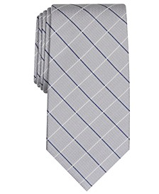 Men's Classic Grid Tie, Created For Macy's