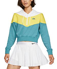 Nike Women's Sportswear Heritage Half-Zip Hoodie