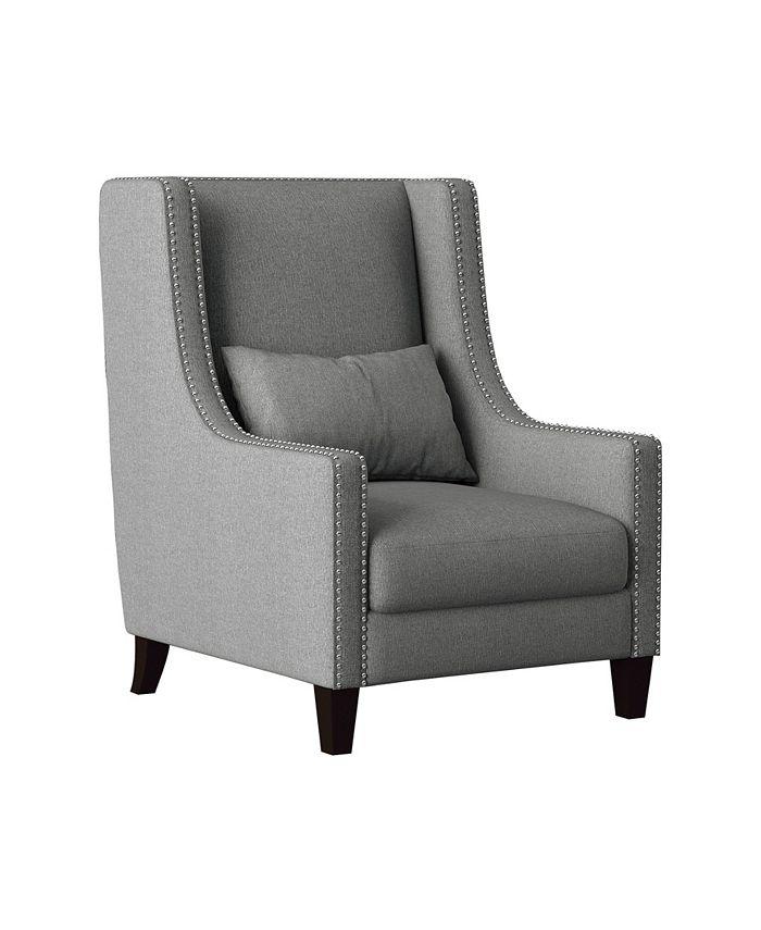 Homelegance - Verona Wingback Chair, Quick Ship
