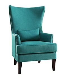 Ceylon Accent Wingback Chair