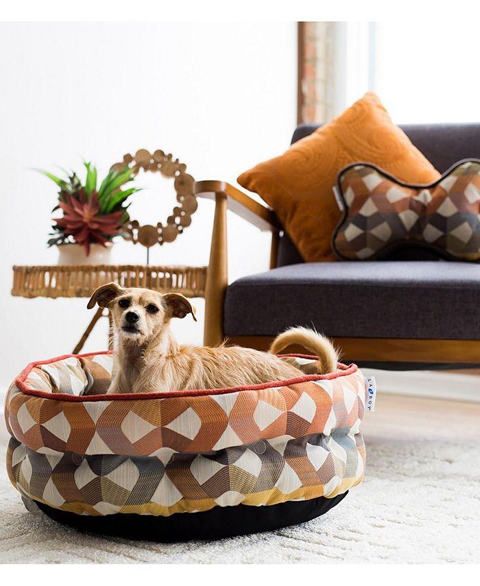 La-Z-Boy - 22 X 18 Ginger Cuddler Dog Bed