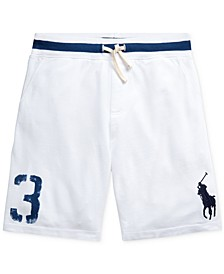 Big Boys Big Pony Cotton Mesh Shorts