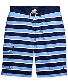 Big Boys Kailua Striped Swim Trunks
