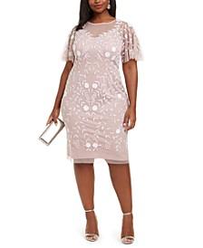 Plus Size Beaded Dress