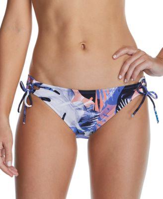 Juniors' Road to Hana Printed Side-Tie Hipster Bikini Bottoms