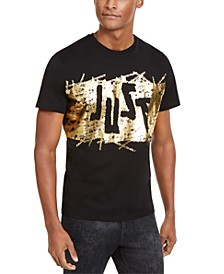 Men's Shiny Just Logo T-Shirt