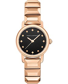 Women's BFFL Rose Gold-Tone Stainless Steel Bracelet Watch 25mm