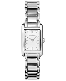 Women's Moment Stainless Steel Bracelet Watch 19X30mm