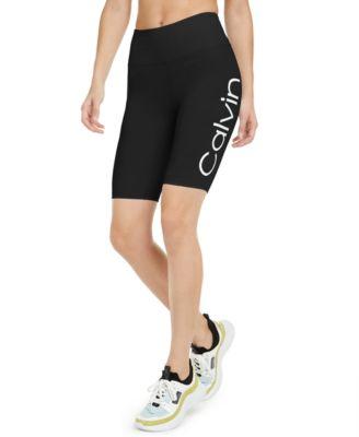 Logo High-Waist Bike Shorts