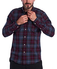 Men's Connel Tailored-Fit Tartan Shirt