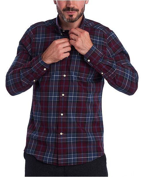 Barbour Men's Connel Tailored-Fit Tartan Shirt
