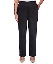 Petite Riverside Drive Textured Proportioned Pants