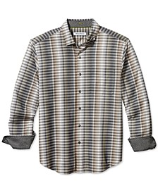 Men's Big & Tall Surf Springs Stripe Classic-Fit Stretch Check Shirt