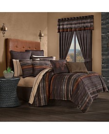 J Queen Mesa Queen 4 Piece Comforter Set
