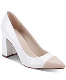 Velda Cap-Toe Pumps