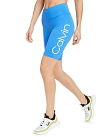 Logo High-Waist Bike Shorts